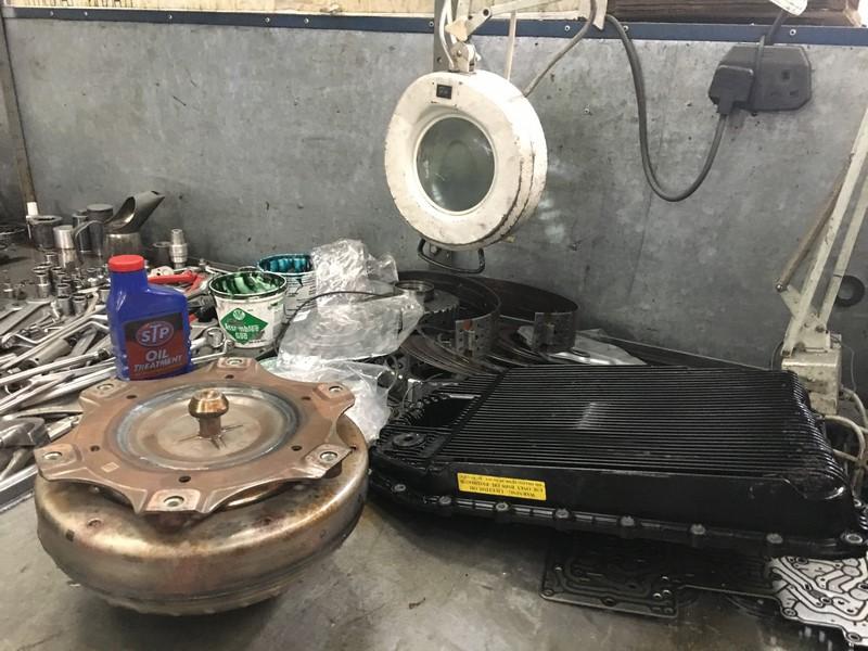 Nissan Juke Gearbox Repair
