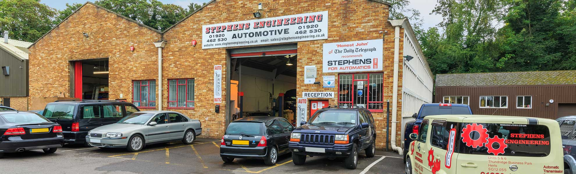 Automatic gearbox repairs