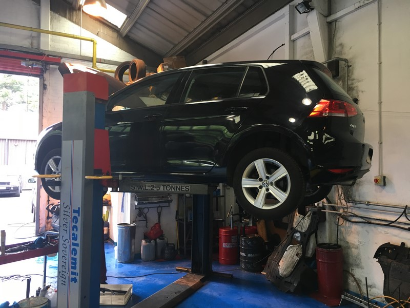 VW Golf Intermittent Judder